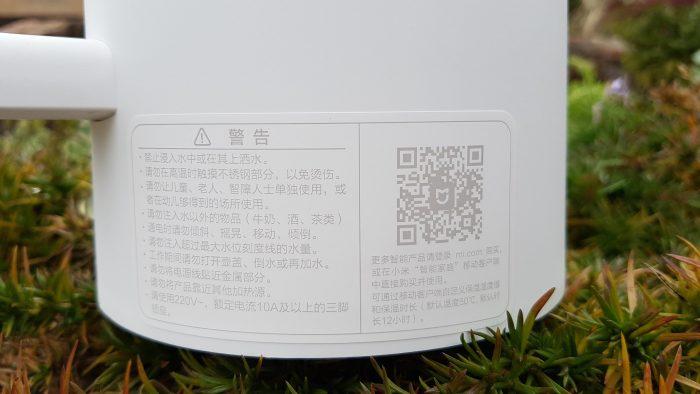Xiaomi hervidor de agua electrico